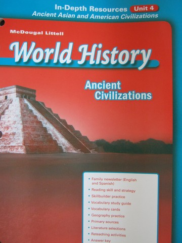 Ancient Civilizations In-Depth Resources Unit 4 (P)