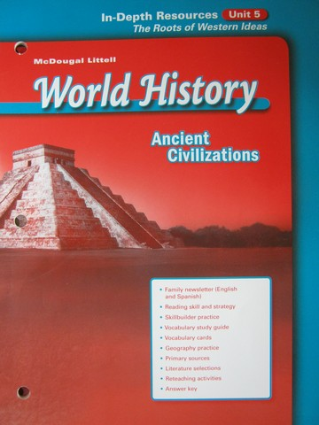 Ancient Civilizations In-Depth Resources Unit 5 (P)