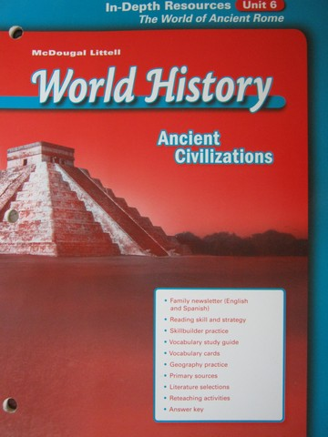 Ancient Civilizations In-Depth Resources Unit 6 (P)
