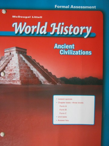 Ancient Civilizations Formal Assessment (P)