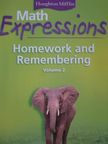 California math expressions common core grade 5 homework
