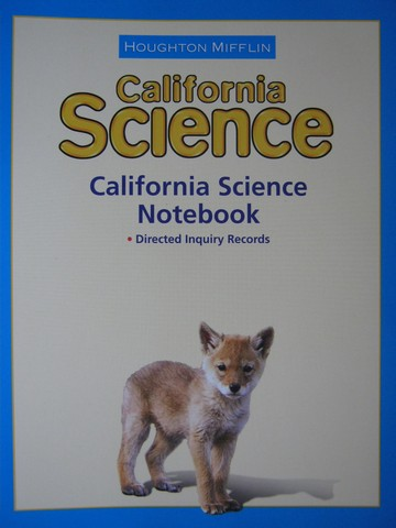 California Science K Science Notebook (CA)(P)