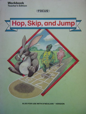 Focus 3 Hop Skip & Jump Workbook TE (TE)(P) by Allington,