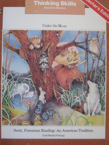 Reading 5 Under the Moon Thinking Skills BLM TE (TE)(P)