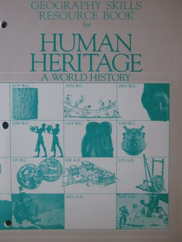 Human Heritage A World History Geography Skills Resource (P)
