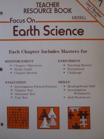 Focus on Earth Science Teacher Resource Book 7 (TE)(P)