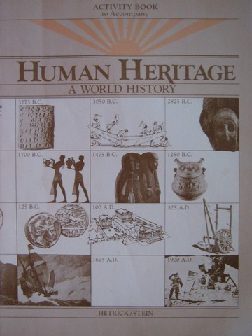 Human Heritage A World History Activity Book (P) by Hetrick,