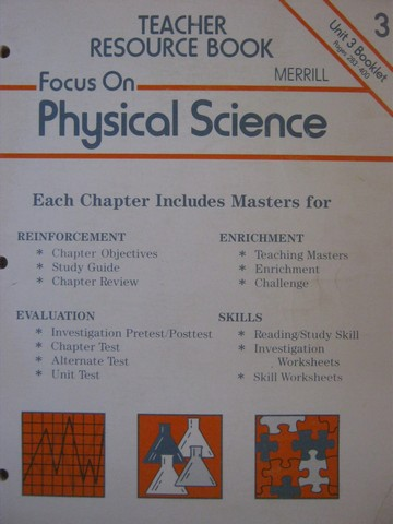Focus on Physical Science Teacher Resource Book 3 (TE)(P)