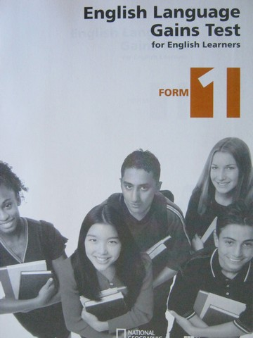 English Language Gains Test for English Learners Form 1 (P)