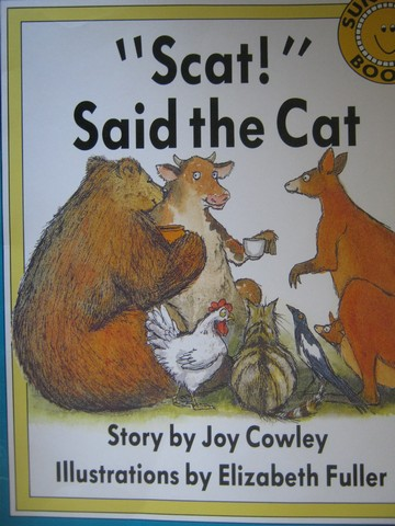 "Sunshine Books 1 ""Scat!"" Said the Cat (P)(Big) by Joy Cowley"