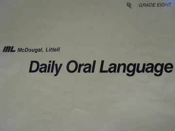 Daily Oral Language 8 TG (TE)(Spiral) by Vail & Papenfuss