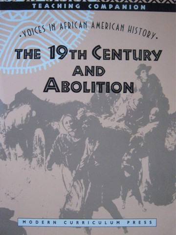 19th Century & Abolition TC (TE)(P) by Nordquist & Howland