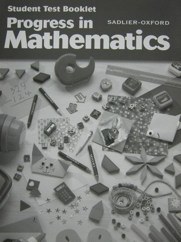 Progress in Mathematics 2 Student Test Booklet (P)