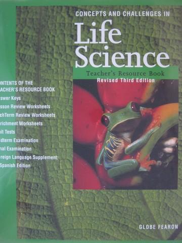 concepts challenges in life science revised 3e trb binder 0835922545 k 12. Black Bedroom Furniture Sets. Home Design Ideas