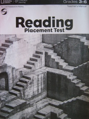 Reading Placement Test Grades 3-6 TM (TE)(P)