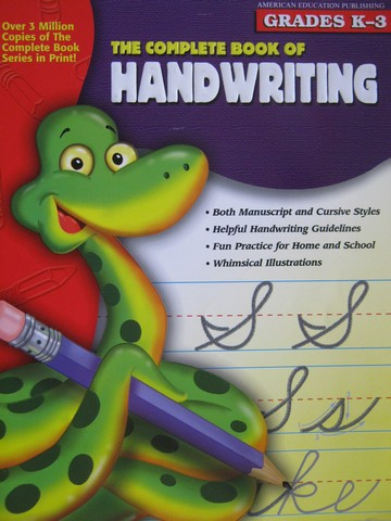 Complete Book of Handwriting Grades K-3 (P)