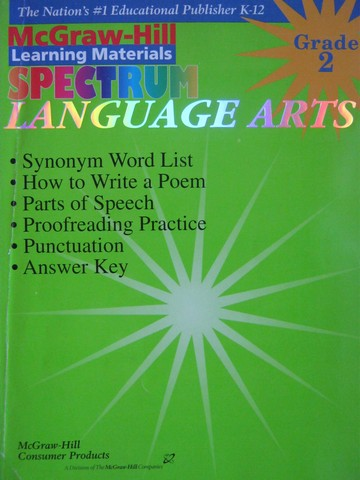 Spectrum Language Arts Grade 2 (P) by Betty Jane Wagner