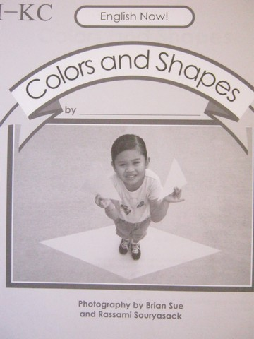 English Now! I-KC Colors & Shapes Workbook (P) by Teisinger