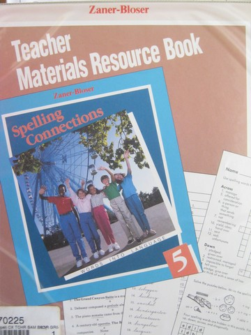 Spelling Connections 5 Teacher's Materials Resource (Binder)