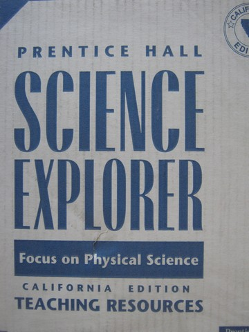 Science Explorer Focus on Physical Science TRP (CA)(TE)(Pk)