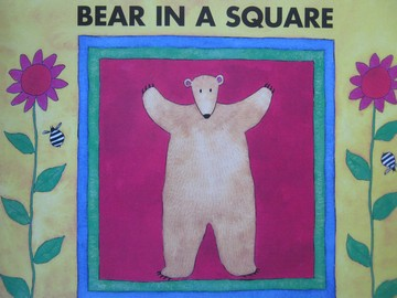 Bear in a Square (P) by Stella Blackstone