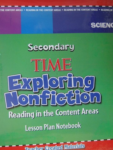 Time Exploring Nonfiction Secondary Science Lesson Plan (Binder)