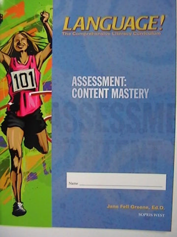 Language! 3rd Edition D Content Mastery (P) by Greene
