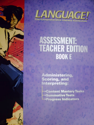 Language! 3rd Edition E Assessment TE (TE)(P) by Greene