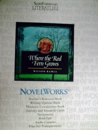 NovelWorks Where the Red Fern Grows (Pk)