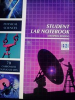 Physical Sciences Student Lab Notebook (Spiral)