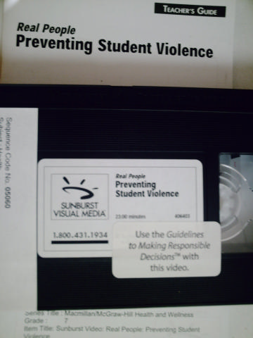 Health & Wellness Real People Preventing Student Violence (Pk)