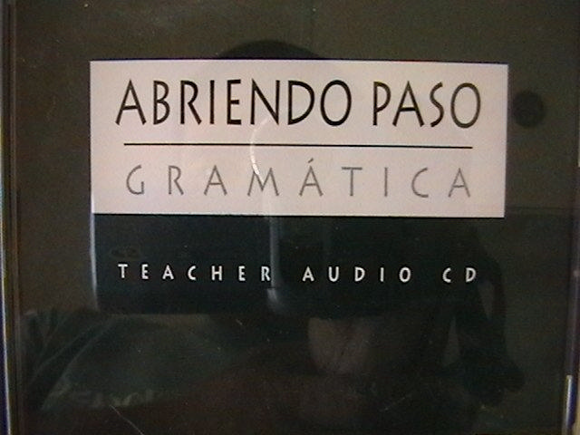 Abriendo Paso Gramatica Teacher Audio CD (TE)(CD)