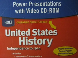United States History Power Presentations (CA)(CD)