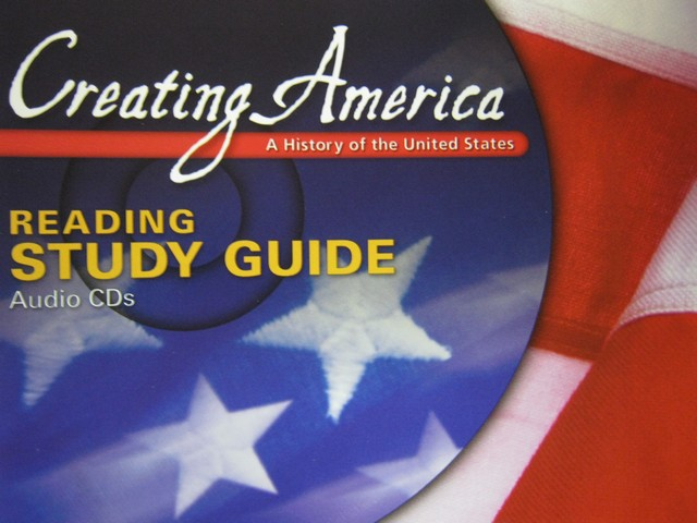 Creating America Reading Study Guide Audio CDs (Pk)