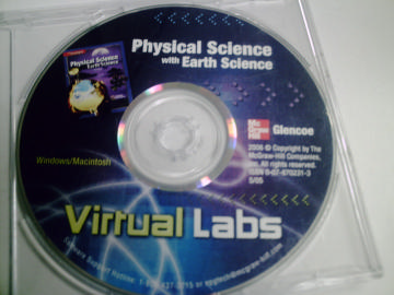 Physical Science with Earth Science Virtual Labs (CD)