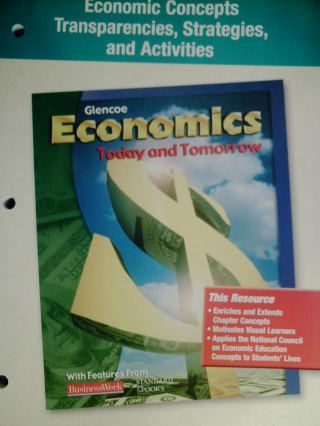 Economics Economic Concepts Transparencies Strategies (P)