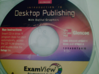 Introduction to Desktop Publishing ExamView (CD)