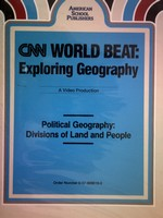 CNN World Beat Political Geography Divisions of Land & Peop(VHS)