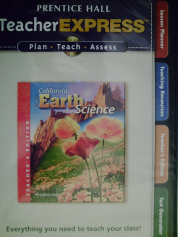 California Focus on Earth Science TeacherExpress (CA)(TE)(CD)
