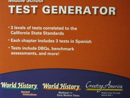 Middle School Social Studies Test Generator (CA)(Pk)
