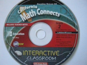 California Math Connects 2 Interactive Classroom (CA)(CD)