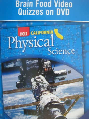California Physical Science Brain Food Video Quizzes (CA)(DVD)