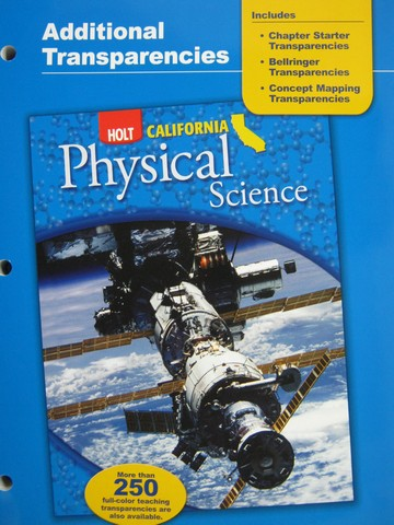 California Physical Science Additional Transparencies (CA)(P)