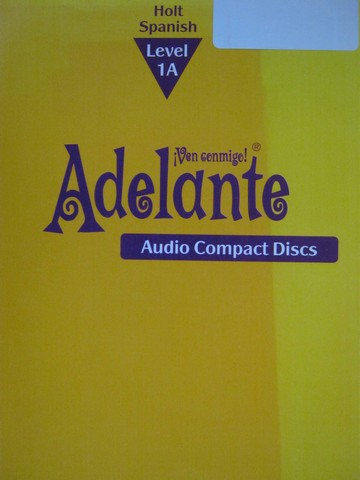 Adelante 1A Audio Compact Discs (CD)(Set)