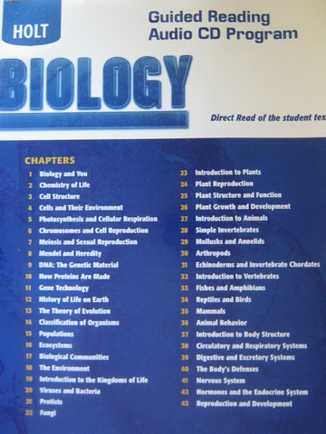Holt Biology Guided Reading Audio CD Program (CD)