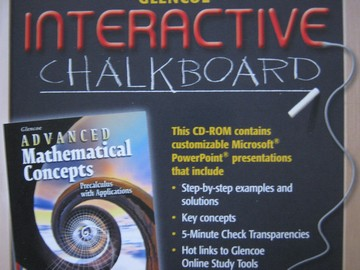 Advanced Mathematical Concepts Interactive Chalkboard (CD)