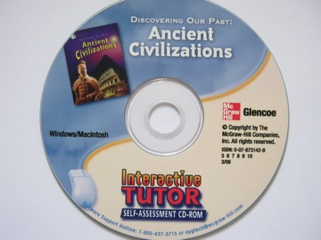 Ancient Civilizations Interactive Tutor Self-Assessment (CA)(CD)