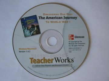 American Journey TeacherWorks Version 1.8.2 (CA)(TE)(CD)