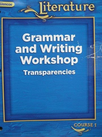 Glencoe Literature Course 1 Grammar & Writing Transparency (P)