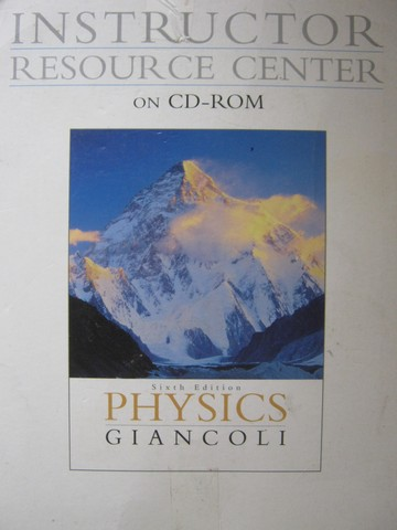 Physics 6th Edition Instructor Resource Center CD 3 (TE)(CD)